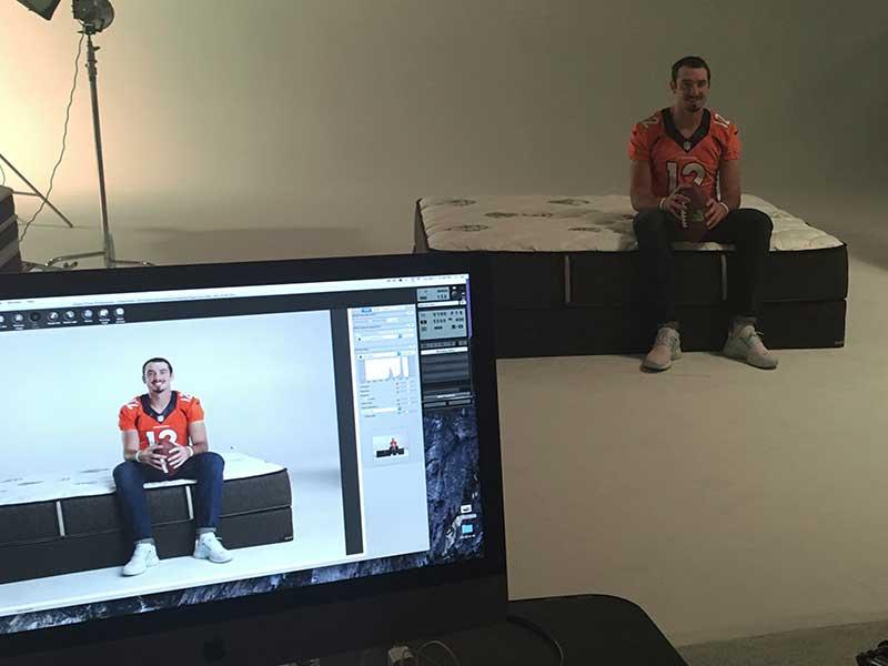 Furniture Row MARCOM Studio Broncos Paxton Lynch