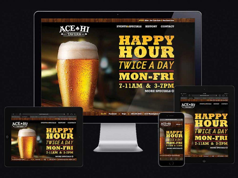Ace Hi RWD website