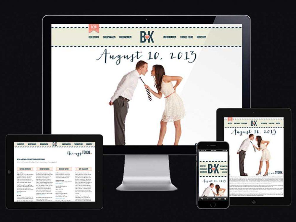 Bob & Kristie Wedding Site
