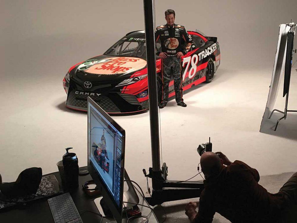 Furniture Row Racing NASCAR Photoshoot Martin Truex Jr