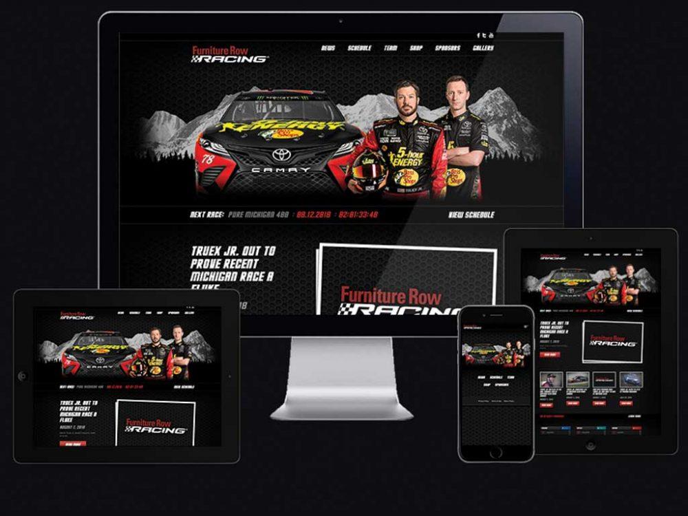 Furniture Row Racing website
