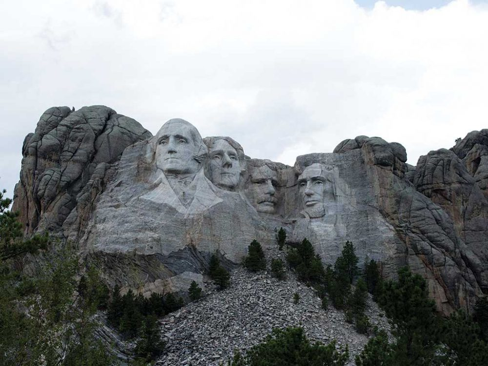 Mount Rushmore by James Einspahr
