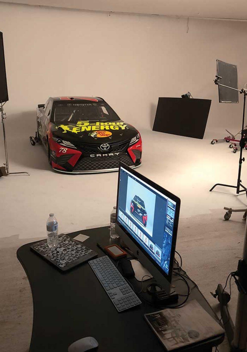 Furniture Row Racing NASCAR Photoshoot 5 Hour
